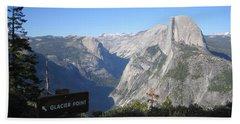 Yosemite National Park Half Dome Rock Glacier Point Beach Sheet