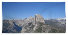 Yosemite National Park Half Dome Rock Panoramic View Beach Sheet