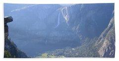 Yosemite National Park Panorama  Beach Sheet