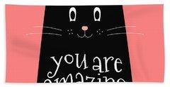 You Are Amazing - Baby Room Nursery Art Poster Print Beach Sheet