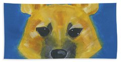 Beach Towel featuring the painting Yukon by Suzy Mandel-Canter