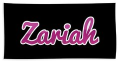 Zariah #zariah Beach Towel