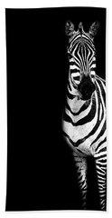 Zebra Drama Beach Towel