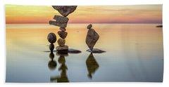 Zen Art Beach Towel