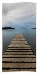 Beach Towel featuring the photograph Zen II by Davor Zerjav