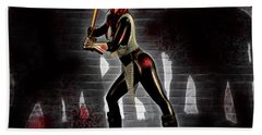 Zombie Hunter Beach Towel