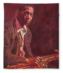 A Love Supreme - Coltrane Fleece Blanket