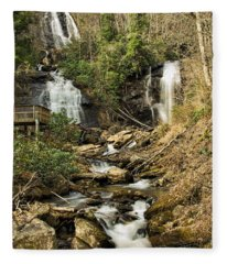 Amacola Falls Fleece Blanket