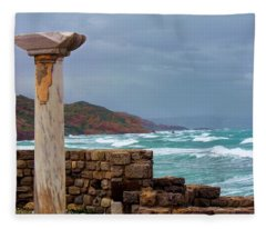 Ancient Greece Fleece Blanket