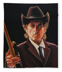 Bob Dylan 2 Fleece Blanket