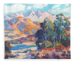 California Lake Fleece Blanket