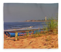 Cape May Beach Fleece Blanket