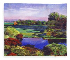 Country View Estate Fleece Blanket