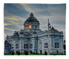 Ananta Samakhom Throne Hall Bangkok  Fleece Blanket