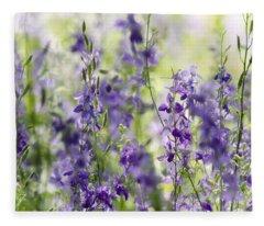 Fields Of Lavender  Fleece Blanket