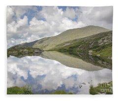 Lakes Of The Clouds - Mount Washington New Hampshire Fleece Blanket