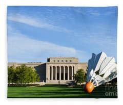 Nelson Adkins Art Museum Fleece Blanket