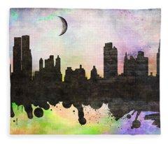 New York 6 Fleece Blanket