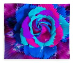 Periwinkle Blue Vision Fleece Blanket