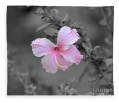 Soft Pink Fleece Blanket