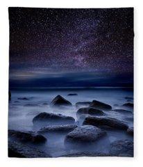 Rock Fleece Blankets