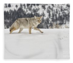 Winter's Determination Fleece Blanket