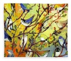 Bird Fleece Blankets