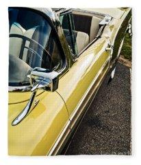 1957 Ford Fairlane 500 Skyliner Retractable Hardtop Convertible Fleece Blanket