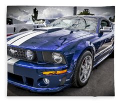 2008 Ford Shelby Mustang With The Roush Stage 2 Package Fleece Blanket