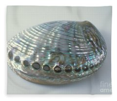 Abalone Shell Fleece Blanket