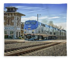 Amtrak 112 Fleece Blanket