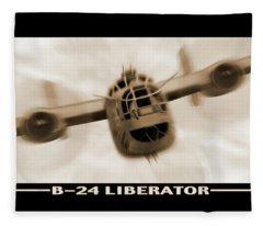 B 24 Liberator Fleece Blanket
