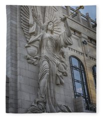 Bass Hall Angel Fleece Blanket