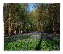 Bluebells Fleece Blanket