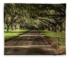 Boone Plantation Road Fleece Blanket
