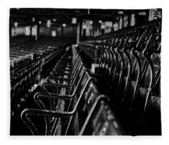 Bostons Fenway Park Baseball Vintage Seats Fleece Blanket