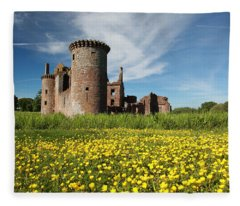 Caerlaverock Castle Fleece Blanket