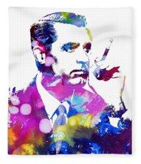 Cary Grant Fleece Blanket