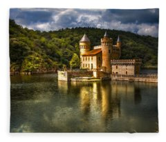 Chateau De La Roche Fleece Blanket