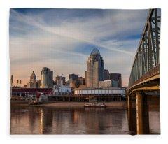 Cincinnati Fleece Blanket