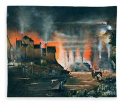 Coalbrookdale Fleece Blanket