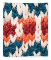 Colorful Wool Fleece Blanket