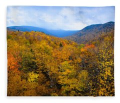 Colors Of Nature Fleece Blanket
