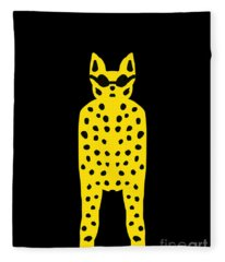 Simply Cool For Cats  Fleece Blanket