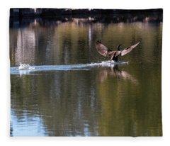 Cormorant Landing Fleece Blanket