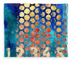Abstract Fleece Blankets
