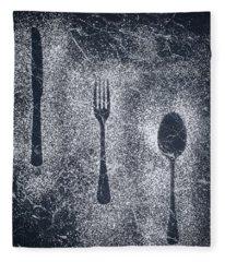 Cutlery Fleece Blanket
