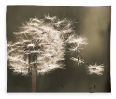 Dandelion Fleece Blanket