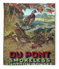 Du Pont Smokeless Fleece Blanket
