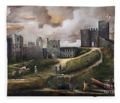 Dudley Castle 2 Fleece Blanket